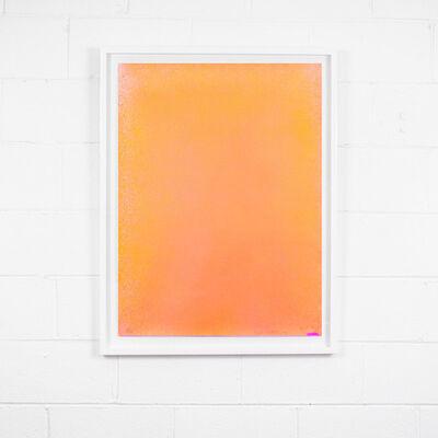 Jules Olitski, 'Orange Spray', 1970