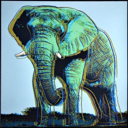Andy Warhol, 'Elephant for Art Basel 1987', 1987