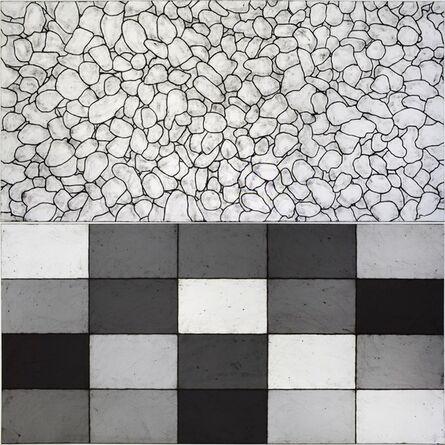 Matt Mullican, 'all I see are light patterns in white', 2018