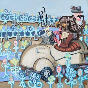Hannah Barrett, 'Rustics: Spring Weekenders', 2014