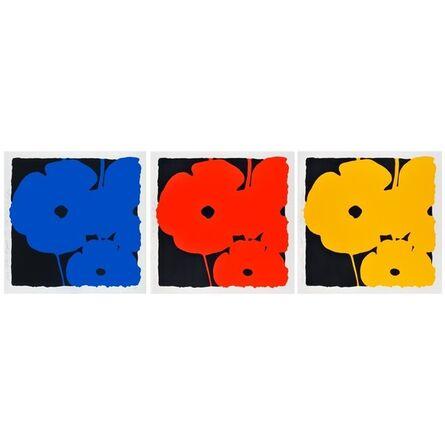 Donald Sultan, 'Big Poppies (portfolio)', 2014