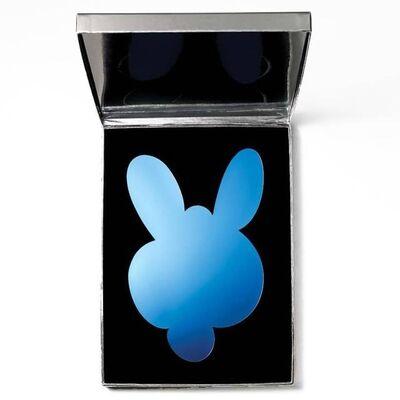 Jeff Koons, 'Kangaroo Mirror Box (Blue) (Signed)', 2003