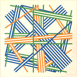 Kenneth Martin, 'Chance and Order ', 1980-1982