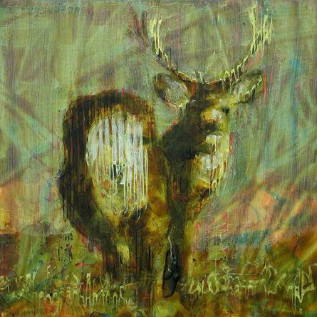 Les Thomas, 'Animal Painting 09-6574'