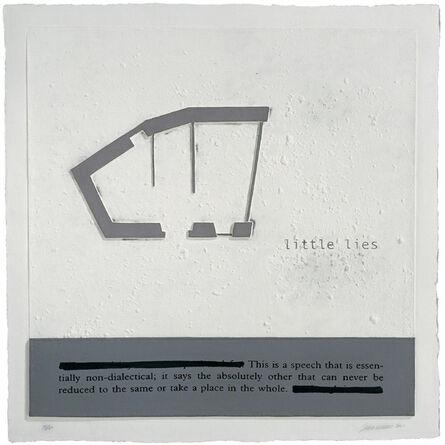 Julião Sarmento, 'Little Lies', 2007