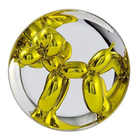 Jeff Koons, 'Balloon Dog (Yellow)', 2015