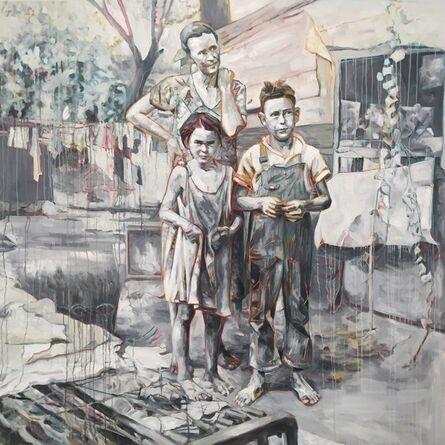 Hung Liu 刘虹, 'Behind the Ears', 2016