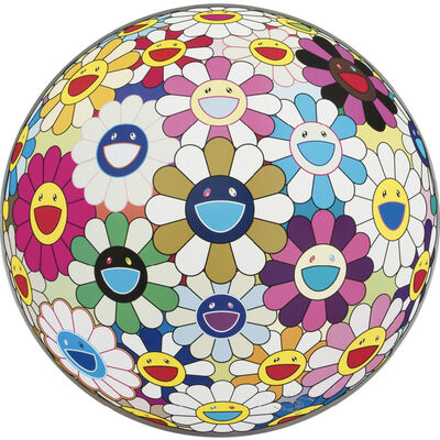 Takashi Murakami, 'Autumn 2004 – Flowerball (3D)', 2013