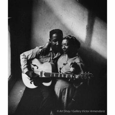Art Shay, 'Muddy Waters & Wife Geneva, 1951', 2017