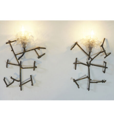Thierry Jeannot, 'Chimalhuacan Flowers (pair of sconces) ', 2015