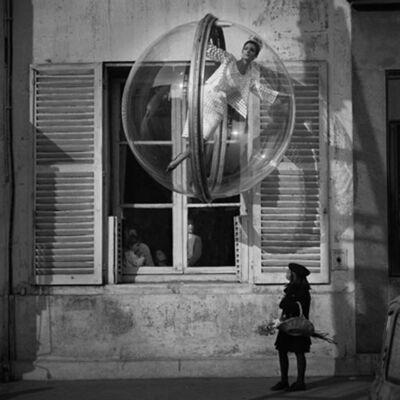 Melvin Sokolsky, 'Flower Girl Faces, Paris', 1963