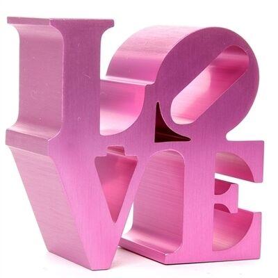 Robert Indiana, 'LOVE (Pink)', 2009