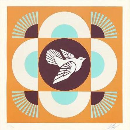 Shepard Fairey, 'Dove Geometric', 2018