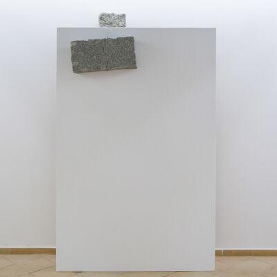 Giovanni Anselmo, 'Senza titolo (working colors on canvas)', 1984