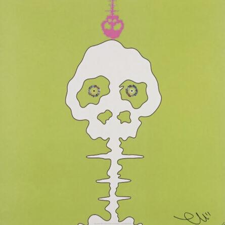 Takashi Murakami, 'Time Bokan (Lime Green)', 2008