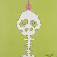 Takashi Murakami, 'Time Bokan (Lime Green)', 2008