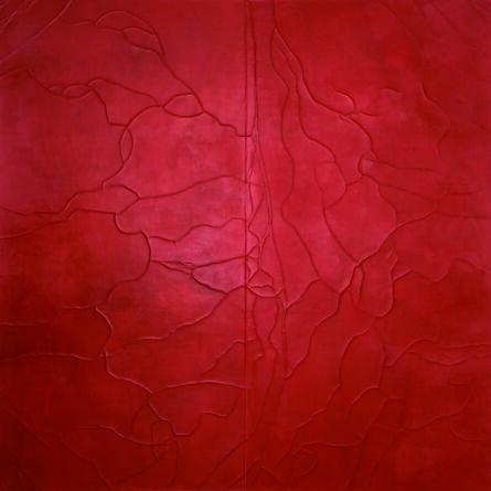 Susan Gunn, 'Divided Ground: Red/Carmine', 2008