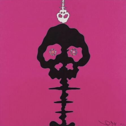 Takashi Murakami, 'Time Bokan (Pink Time)', 2011