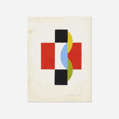 Sonia Delaunay, 'Untitled (Illustration For Le Fruit Permis By Tristan Tzara)', c. 1956