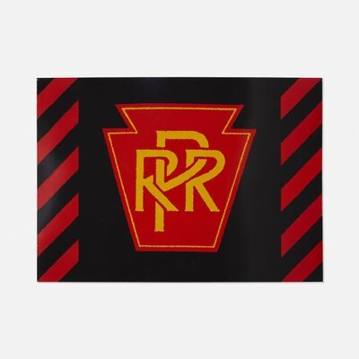 Robert Cottingham, 'PRR Railroad, Unique Panel from the Union Train Station Installation in Hartford, Conn., 1987', 1987