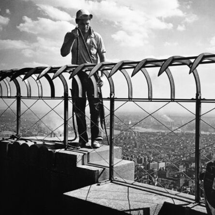 Vivian Maier, 'The Empire State Building Observation Deck, New York', printed later