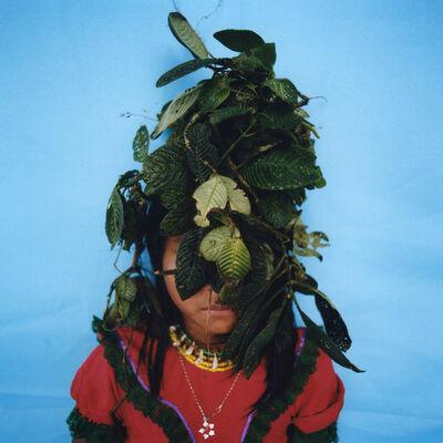 Karen Paulina Biswell, 'Jagua (painting with nature) ', ca. 2014