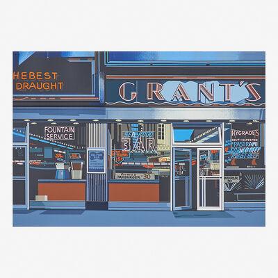 Richard Estes, 'Grants from Urban Landscapes', 1972