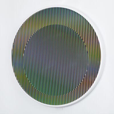 Carlos Cruz-Diez, 'Chromointerference manipulable circulaire', 2013