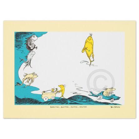 Dr. Seuss, 'Dr. Seuss - Black Fish, Blue Fish, Old Fish, New Fish, ', 2016