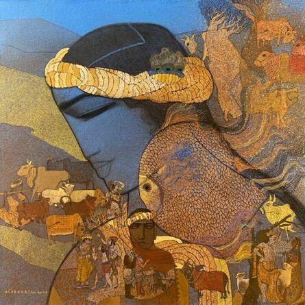 Siddharth Shingade, 'Krishna Matsya and Nature', 2020