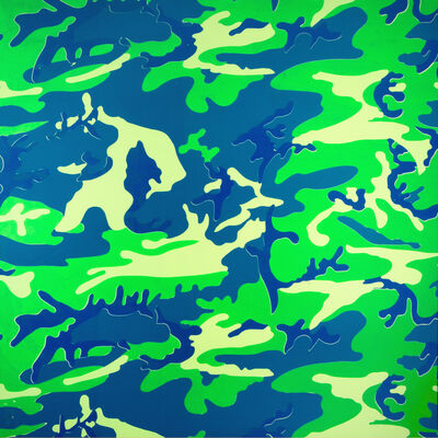 Andy Warhol, 'Camouflage (Trial Proof)', 1987