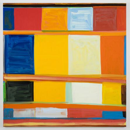 Stanley Whitney, 'james brown sacrifice to apollo', 2008