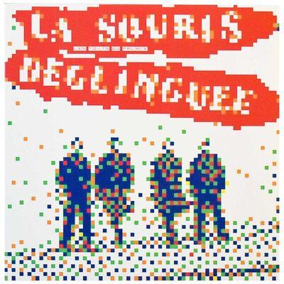 Invader, 'LA SOURIS DEGLINGUEE (Record)', 2014