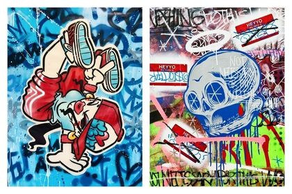 A Group Graffiti Art Exhibition