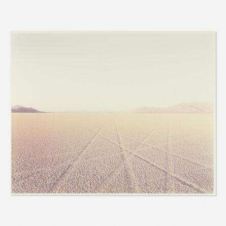 Richard Misrach, 'Tracks, Black Rock Desert, Nevada (from Desert Canto VIII: The Event II)'