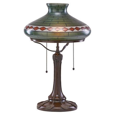 Handel, 'Art & Crafts style table lamp, Meriden, CT', 1910s