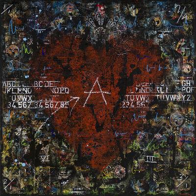 Jean-Daniel Rohrer, 'Love - la configuration', 2020