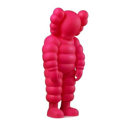 KAWS, 'What Party - Chum (Pink)', 2020