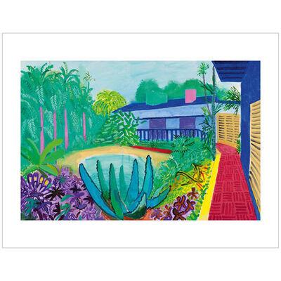 David Hockney, 'Garden', 2017