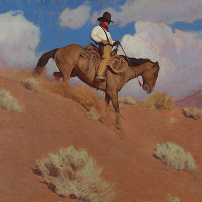 Glenn Dean, 'Cowpuncher of the Red Dust Lands ', 2020