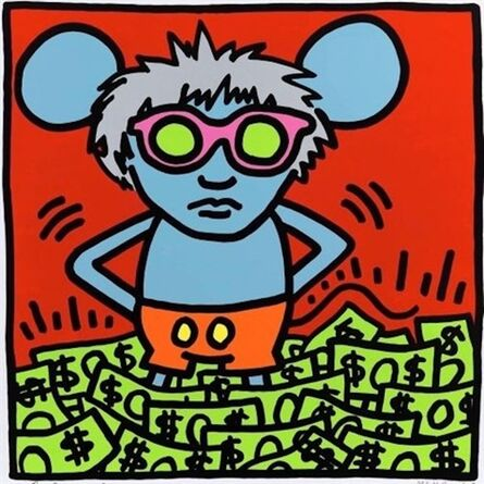 Andy Warhol, 'Andy Mouse (Dollar Bills) ', 1986