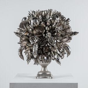 Ann Carrington, 'Silver Sedirea', 2018