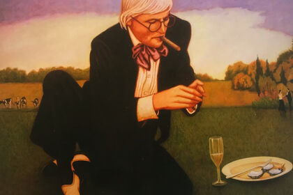 DAVID HOCKNEY || BOB MARCHANT A day at the Glyndebourne Opera House with David Hockney