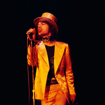 Bent Rej, 'Mick Jagger on Stage, Copenhagen, 1970', 1970