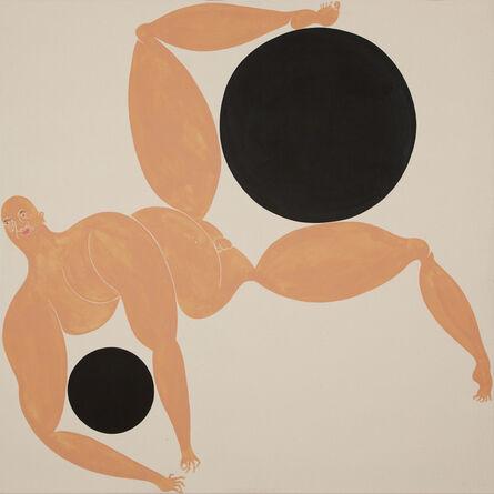 Giovanni Garcia-Fenech, 'Self-portrait with Two Problems I', 2015