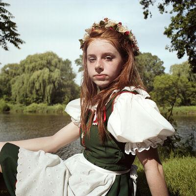 Naomi Harris, 'Maifest Maiden, Bavarian Festival, Frankenmuth, Michigan', 2010