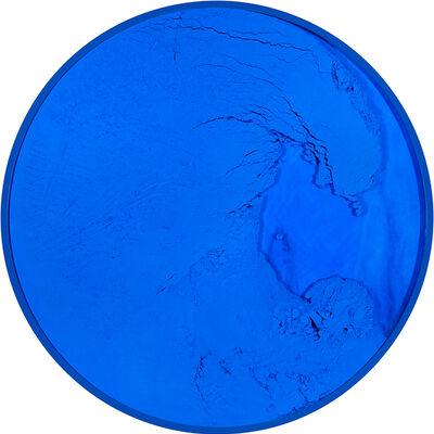 Manuel Merida, 'Cercle Bleu Outremer', 2021