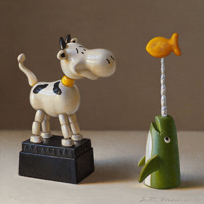 Scott Fraser, 'Cow and the Narwhal', 2013