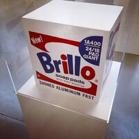 Andy Warhol, 'Brillo Soap Pads Box 1968/1990 Malmö Type', 1968/1990