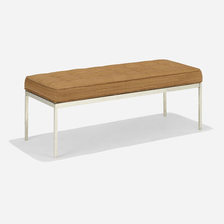Florence Knoll, 'bench', 1955